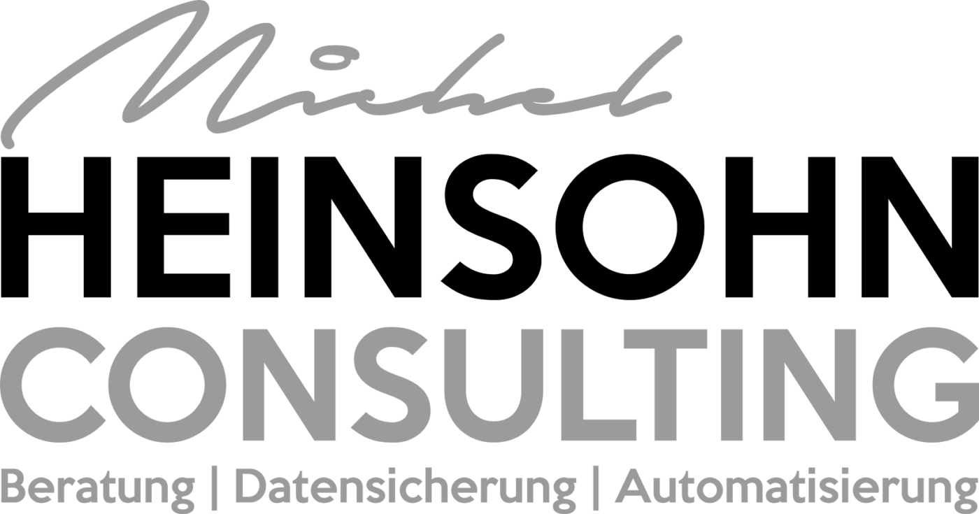 Referenzen Unternehmungsberatung: Das Logo von Heinsohn Consulting ist zu sehen