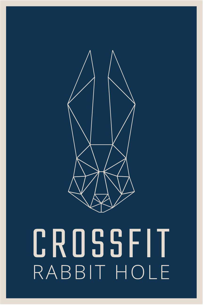 Referenzen Unternehmungsberatung: Das Logo von Crossfit Rabbit Hole ist zu sehen.